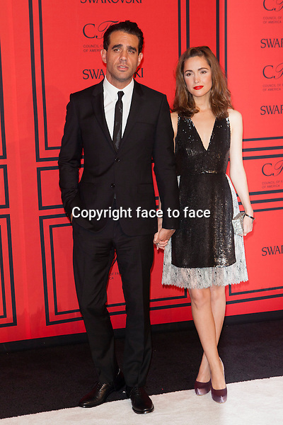 NEW YORK, NY - JUNE 3: Bobby Cannavale, Rose Byrne at the 2013 CFDA Fashion Awards at Lincoln Center's Alice Tully Hall in New York City. June 3, 2013. <br /> Credit: MediaPunch/face to face<br /> - Germany, Austria, Switzerland, Eastern Europe, Australia, UK, USA, Taiwan, Singapore, China, Malaysia, Thailand, Sweden, Estonia, Latvia and Lithuania rights only -