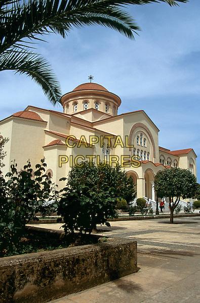 Saint Gerassimos Monastery, Kefalonia, Greece