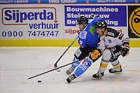 IJSHOCKEY: HEERENVEEN; 15-11-2014, IJstadion Thialf, UNIS Flyers - Tilburg Trappers, uitslag 3-2, Mitch Bruijsten (#9), ©foto Martin de Jong