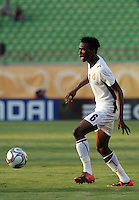 Ghana's David Addy (6) take charge of the ball during the match against South Korea during the FIFA Under 20 World Cup Quarter-final match at the Mubarak Stadium  in Suez, Egypt, on October 09, 2009.