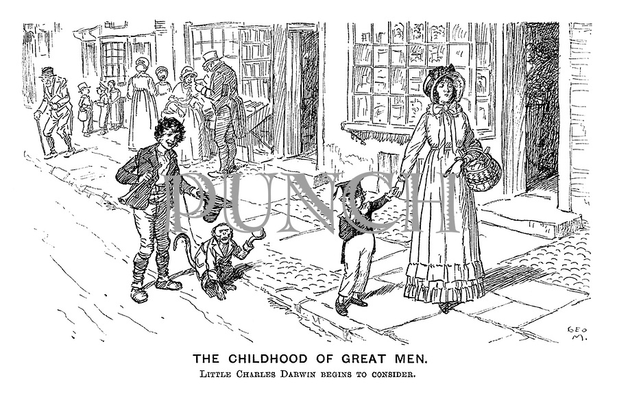 The Childhood of Great Men. Little Charles Darwin begins to consider.