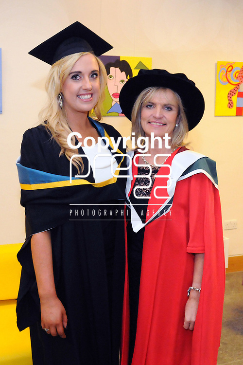 23/10/2015  Pictured at the recent Mary Immaculate College conferring ceremonies were Sylvaine Ni Aogain, Kilalloe, who graduated with a and Margaret Egan, Lecturer, Mary Immaculate College. 625 students from 20 counties and 3 continents were conferred with academic awards across the College&rsquo;s 27 programmes including the College&rsquo;s 100th PhD award.<br /> Pic: Gareth Williams / Press 22