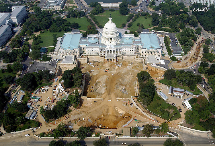 Capitol visitors center job site.