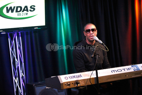 Tank visits WDAS iHeart performance Theater in Bala Cynwyd, Pa on February 15, 2012  © Star Shooter / MediaPunchInc