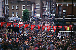 Protest in Central London  against the car...Protesters blockaded the  streets in central london for over half a day.