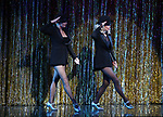 """Amra-Faye Wright with Christie Brinkley as she kicks off her third run as """"Roxie Hart"""" in CHICAGO on Broadway at the the Ambassador on April 18, 2019 in New York City."""