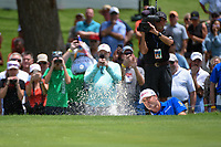 Ryan Palmer (USA) hits from the trap on 5 during round 2 of the 2019 Charles Schwab Challenge, Colonial Country Club, Ft. Worth, Texas,  USA. 5/24/2019.<br /> Picture: Golffile   Ken Murray<br /> <br /> All photo usage must carry mandatory copyright credit (© Golffile   Ken Murray)