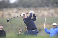 Richard MvEvoy (ENG) on the 11th tee during Round 2 of the Open de Espana 2018 at Centro Nacional de Golf on Friday 13th April 2018.<br /> Picture:  Thos Caffrey / www.golffile.ie<br /> <br /> All photo usage must carry mandatory copyright credit (&copy; Golffile | Thos Caffrey)
