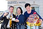 Billy Carver, Tara O'Donoghue and ann Marie O'Leary launching the Multiple Schlorsis South Kerry coffee morning which will be held in the Killarney Royal Hotel on Saturday 22nd April