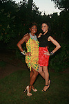 Jocelyn R. Taylor and Guest Attend Russell Simmons' 12th Annual Art for Life East Hampton Benefit, NY 7/30/11