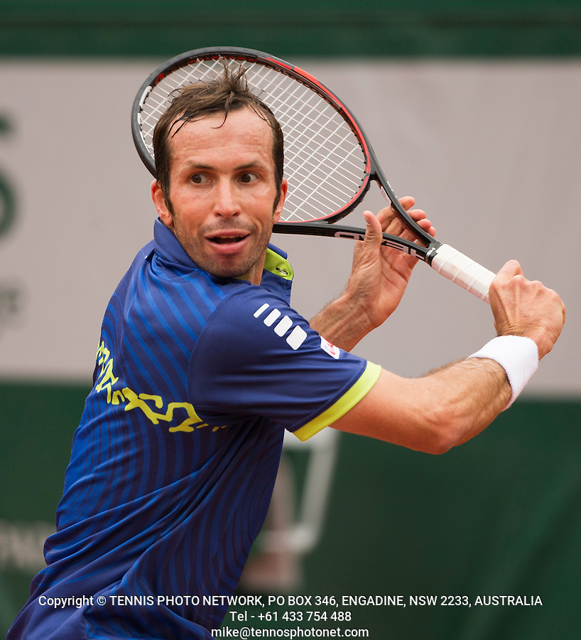RADEK STEPANEK (CZE)<br /> <br /> TENNIS - FRENCH OPEN - ROLAND GARROS - ATP - WTA - ITF - GRAND SLAM - CHAMPIONSHIPS - PARIS - FRANCE - 2016  <br /> <br /> <br /> <br /> &copy; TENNIS PHOTO NETWORK