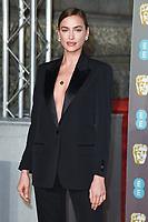 Irina Shayk<br /> arriving for the BAFTA Film Awards 2019 at the Royal Albert Hall, London<br /> <br /> ©Ash Knotek  D3478  10/02/2019