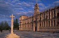 Spanien, Kastilien-Léon, Leon (León), Parador (Hotel) im ehemaligen Kloster San Marcos