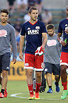15 June 2016: New England's Chris Tierney. The Carolina RailHawks hosted the New England Revolution at WakeMed Stadium in Cary, North Carolina in a 2016 Lamar Hunt U.S. Open Cup fourth round game.