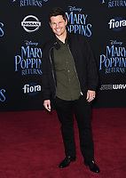 29 November 2018 - Hollywood, California - Ian Reed Kesler. &quot;Mary Poppins Returns&quot; Los Angeles Premiere held at The Dolby Theatre.   <br /> CAP/ADM/BT<br /> &copy;BT/ADM/Capital Pictures