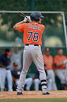 Houston Astros outfielder Derek Fisher (78) during an Instructional League game against the Atlanta Braves on September 22, 2014 at the ESPN Wide World of Sports Complex in Kissimmee, Florida.  (Mike Janes/Four Seam Images)