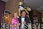 Enjoying Oliver Hurley's Night at the Oscars   50th birthday celebration  at the Fels point Hotel on Friday were John Cournane and Catherine Cournane