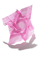 New York, NY, USA - December 14, 2011: Origami tessellation folded by Esmé Cribb.