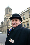 Tony Fox, Head Custodian of Christ Church on St Aldates during the Sunday Times Oxford Literary Festival, UK, 16 - 24 March 2013.<br />