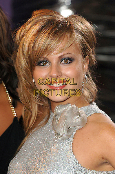 TINA O'BRIEN.Arrivals at the British Soap Awards 2007, BBC Television Centre, London, England. .May 26, 2007.headshot portrait gathered corsage .CAP/BEL.©Belcher/Capital Pictures