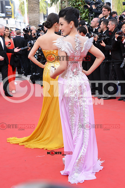"Chen Tingjia attending the ""De Rouille et D'os"" Premiere during the 65th annual International Cannes Film Festival in Cannes, 17th May 2012...Credit: Timm/face to face /MediaPunch Inc. ***FOR USA ONLY***"