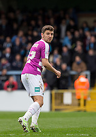 James Pearson of Barnet during the Sky Bet League 2 match between Wycombe Wanderers and Barnet at Adams Park, High Wycombe, England on 16 April 2016. Photo by Andy Rowland.