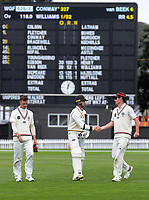 191030 Plunket Shield Cricket - Wellingotn Firebirds v Canterbury