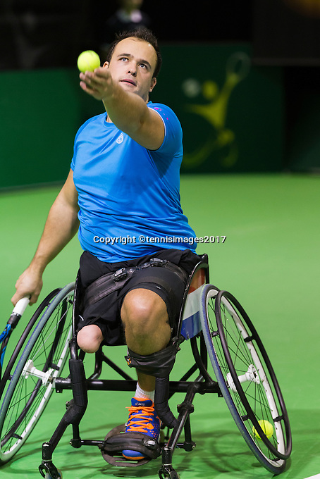 ABN AMRO World Tennis Tournament, Rotterdam, The Netherlands, 14 februari, 2017, <br /> Photo: Henk Koster