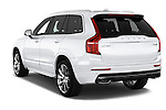 Car pictures of rear three quarter view of 2015 Volvo XC90 Inscription7 5 Door SUV Angular Rear