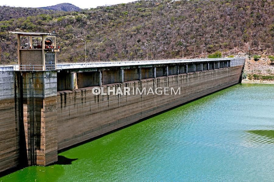 Barragem de Acaua na Paraiba. 2015. Foto de Kleide Teixeira.