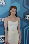 - Fox Upfront Emma Roberts - Scream Queens - May 16, 2016 at Wollman Rink, Central Park, New York City, New York. (Photo by Sue Coflin/Max Photos)
