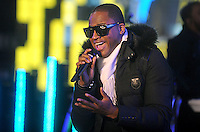 Taio Cruz performs New Year's Eve 2011 in Times Square in New York City December 31, 2010. © Dennis Van Tine / MediaPunch Inc.