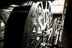 Steam engine, SS Great Britain maritime museum, Bristol, England