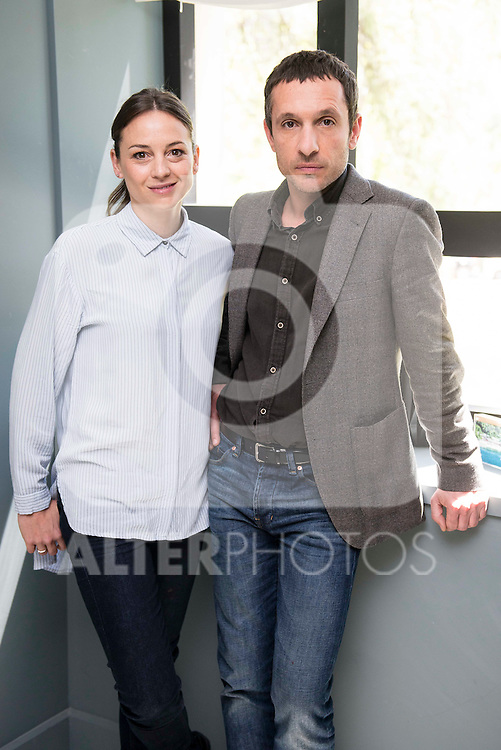 "Leonor Watling and Pablo Derqui during the presentation of ""Pulsaciones"" the new prime time serie of Antena 3 tv in Madrid. May 03, 2016. (ALTERPHOTOS/Borja B.Hojas)"