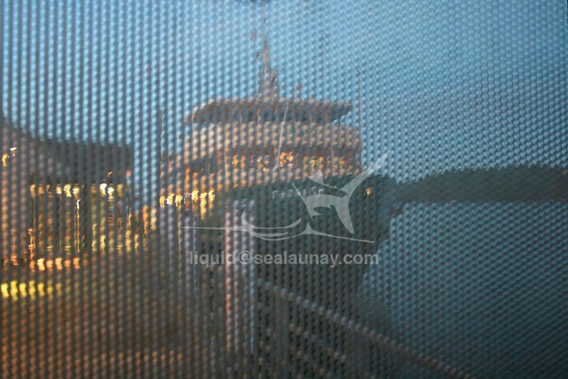 A Sydney Ferry at the Manly Wharf, Sydney.