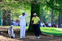 Devon Bling (USA) (AM) on the 13th fairway during Wednesdays preview at the The Masters , Augusta National, Augusta, Georgia, USA. 10/04/2019.<br /> Picture Fran Caffrey / Golffile.ie<br /> <br /> All photo usage must carry mandatory copyright credit (&copy; Golffile | Fran Caffrey)