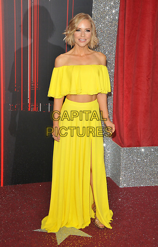 Stephanie Waring at the British Soap Awards 2019, The Lowry Theatre, Pier 8, The Quays, Media City, Salford, Manchester, England, UK, on Saturday 01st June 2019.<br /> CAP/CAN<br /> ©CAN/Capital Pictures