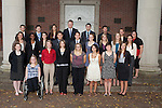 Cutler Scholars Group Portrait. Photo by Chris Franz