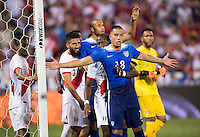 Washington, DC - September 4, 2015:  The USMNT defeated Peru 2-1 during their international friendly at RFK Stadium .