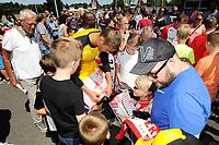 EMMEN - Opendag FC Emmen , Oude Meerdijk, seizoen 2018-2019, 15-07-2018,  FC Emmen doelman Kjell Scherpen