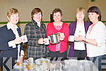 TEA; Noreen Crean who helped out with the teas after the opening off the newly furbuish St Marys Church,Camp, on Sunday in The Camp Community Centre on Sunday, l-r: Mary Knightly, Helen OShea, Noreen Crean, Nora Quirke and Kathleen Scanlon...