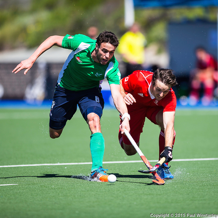Ireland vs Canada in semi final  at World League Round 2 in Chula Vista, California.
