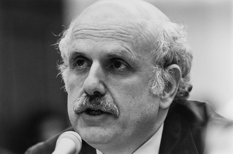 Fred Wertheimer speaking with Common Cause testifies before the House CFR Task Force, on June 3, 1991. (Photo by Laura Patterson/CQ Roll Call)