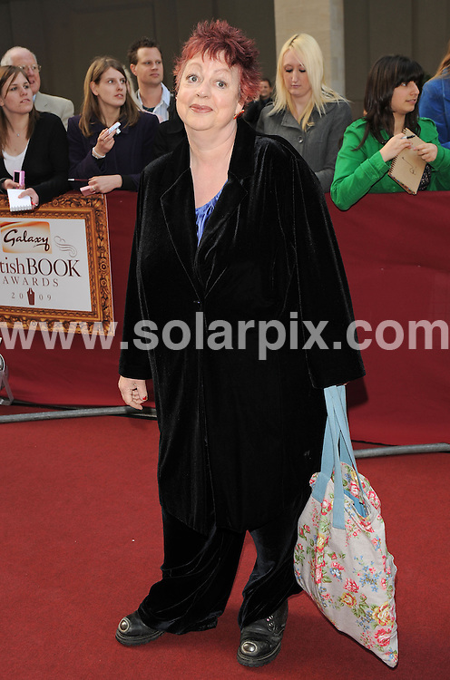 "**ALL ROUND PICTURES FROM SOLARPIX.COM**.**WORLDWIDE SYNDICATION RIGHTS**.Authors and celebrities arrive for the Galaxy British Book Awards or ""Nibbies"" at the Grosvenor House Hotel in London..This pic:  Jo Brand.JOB REF:  8765    SSD     DATE:  04.04.09.**MUST CREDIT SOLARPIX.COM OR DOUBLE FEE WILL BE CHARGED**.**ONLINE USAGE FEE GBP 50.00 PER PICTURE - NOTIFICATION OF USAGE TO PHOTO @ SOLARPIX.COM**.**CALL SOLARPIX : +34 952 811 768 or LOW RATE FROM UK 0844 617 7637**"