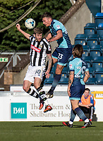 Will De Havilland of Wycombe Wanderers during the Sky Bet League 2 match between Wycombe Wanderers and Notts County at Adams Park, High Wycombe, England on the 25th March 2017. Photo by Liam McAvoy.