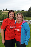 7-7-2017; Breda O'Sullivan and Carmel O'Brien from Killorglin, County Kerry  pictured in the village of Sneem in County Kerry on day 1 of the Kerry Way Walk in aid of Breakthrough Cancer Research on Friday evening. The three dayt charity walk continues in Derrynane on Saturday and South Kerry on Sunday.<br /> Photo Don MacMonagle<br /> <br /> Repro free photo breakthrough cancer research <br /> <br /> <br /> <br /> pictured in the village of Sneem in County Kerry on day 1 of the Kerry Way Walk in aid of Breakthrough Cancer Research on Friday evening. The three dayt charity walk continues in Derrynane on Saturday and South Kerry on Sunday.<br /> Photo Don MacMonagle<br /> <br /> Repro free photo breakthrough cancer research