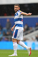 Angel Rangel of Queens Park Rangers  during Queens Park Rangers vs Derby County, Sky Bet EFL Championship Football at Loftus Road Stadium on 6th October 2018