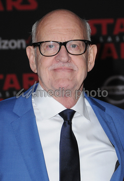 "09 December  2017 - Los Angeles, California - Frank Oz. Premiere Of Disney Pictures And Lucasfilm's ""Star Wars: The Last Jedi"" held at The Shrine Auditorium  in Los Angeles Photo Credit: Birdie Thompson/AdMedia"