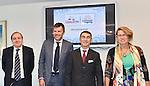 The two classic autumn races Milano-Torino and GranPiemonte were presented today at the Assessorato allo Sport Regione Piemonte, Turin, Italy. 18th September 2015.<br /> Photo: ANSA/Alessandro Di Marco/Newsfile