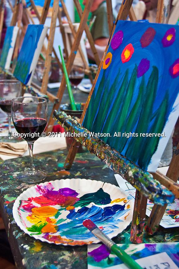 Pinot's Palette (Montrose) ArtTasting